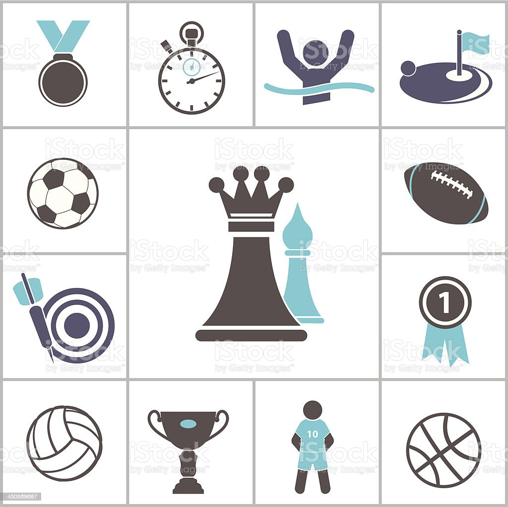 Sport icon royalty-free sport icon stock vector art & more images of adult