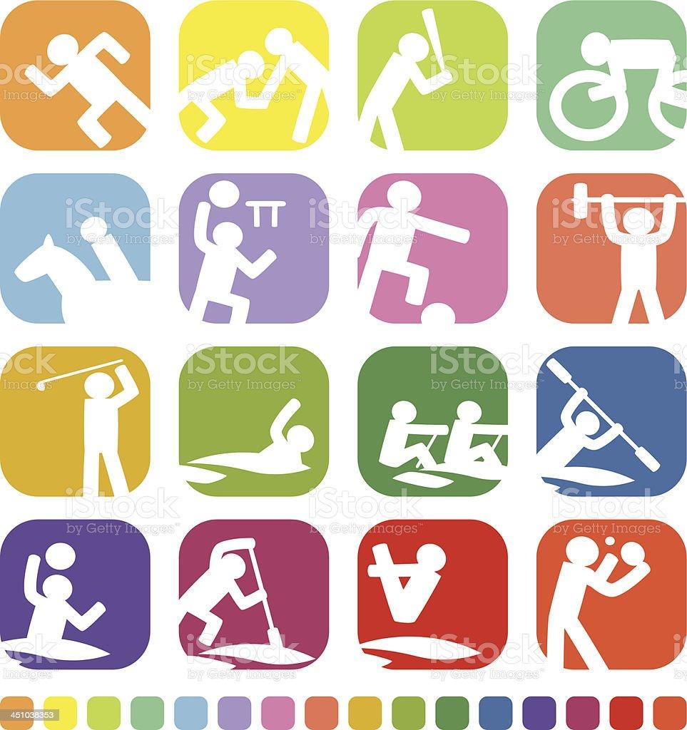 Ícone do esporte - ilustração de arte em vetor