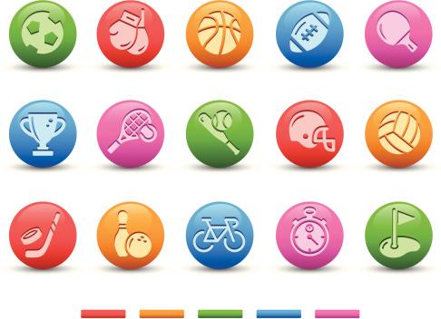 Sport Icons | Satin Series