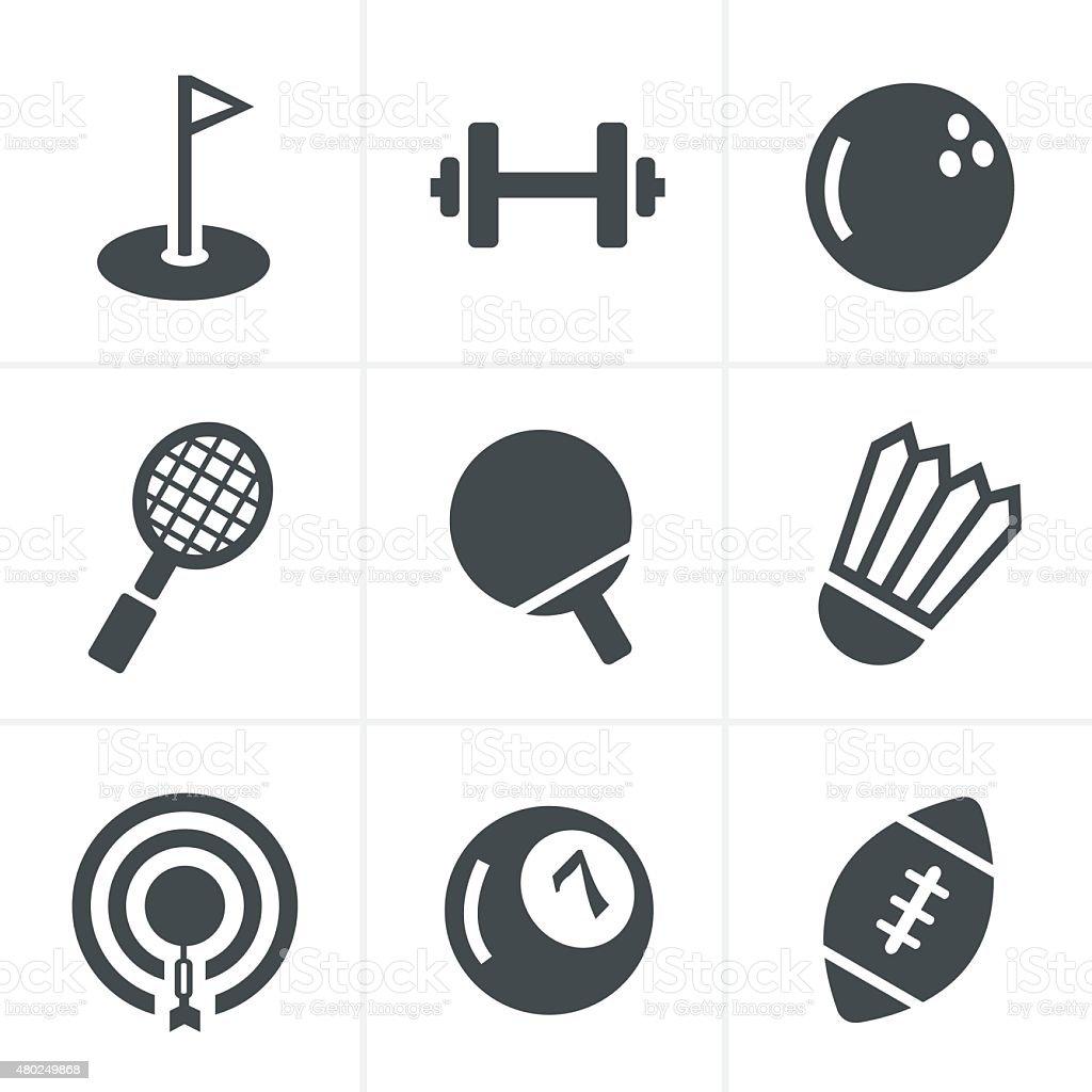 Sport icons Set, Vector Design vector art illustration