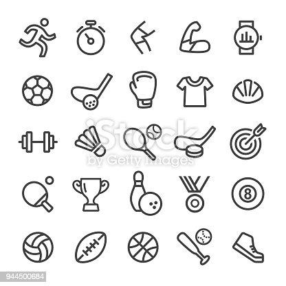 Sport Icons - Smart Line Series