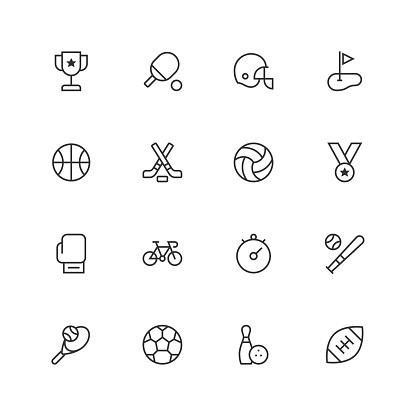 Sport Icons - Unique