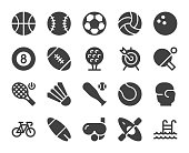 Sport Icons Vector EPS File.