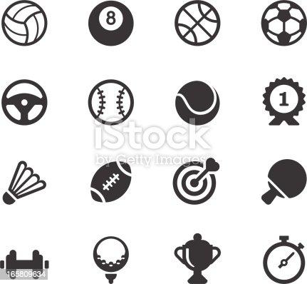istock Sport Icons 165809634