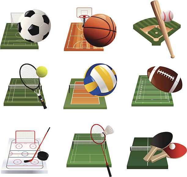 sport icons - paddle sports stock illustrations, clip art, cartoons, & icons
