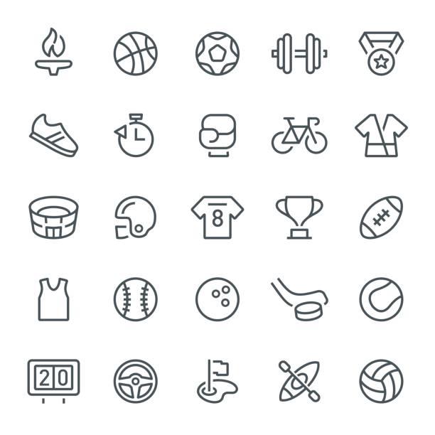 sport icons - baseball stadium stock illustrations, clip art, cartoons, & icons