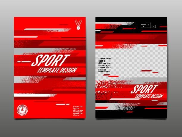 sport-layout, vorlage design, abstrakte hintergrund, dynamische poster, pinsel geschwindigkeit banner, grunge, vektor-illustration. - sport stock-grafiken, -clipart, -cartoons und -symbole
