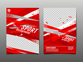 sport Layout , template Design, Abstract Background, Dynamic Poster, Brush Speed Banner, grunge ,Vector Illustration.