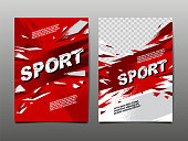 istock sport Layout , template Design, Abstract Background, Dynamic Poster, Brush Speed Banner, grunge ,Vector Illustration. 1222526312