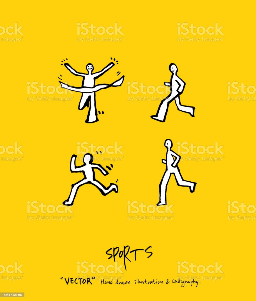 Sport poster royalty-free sport poster stock vector art & more images of athlete