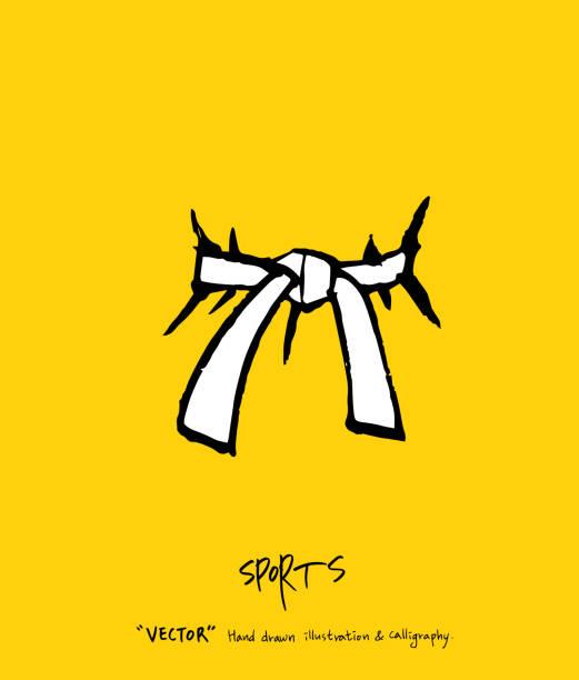 sport poster - taekwondo stock illustrations, clip art, cartoons, & icons