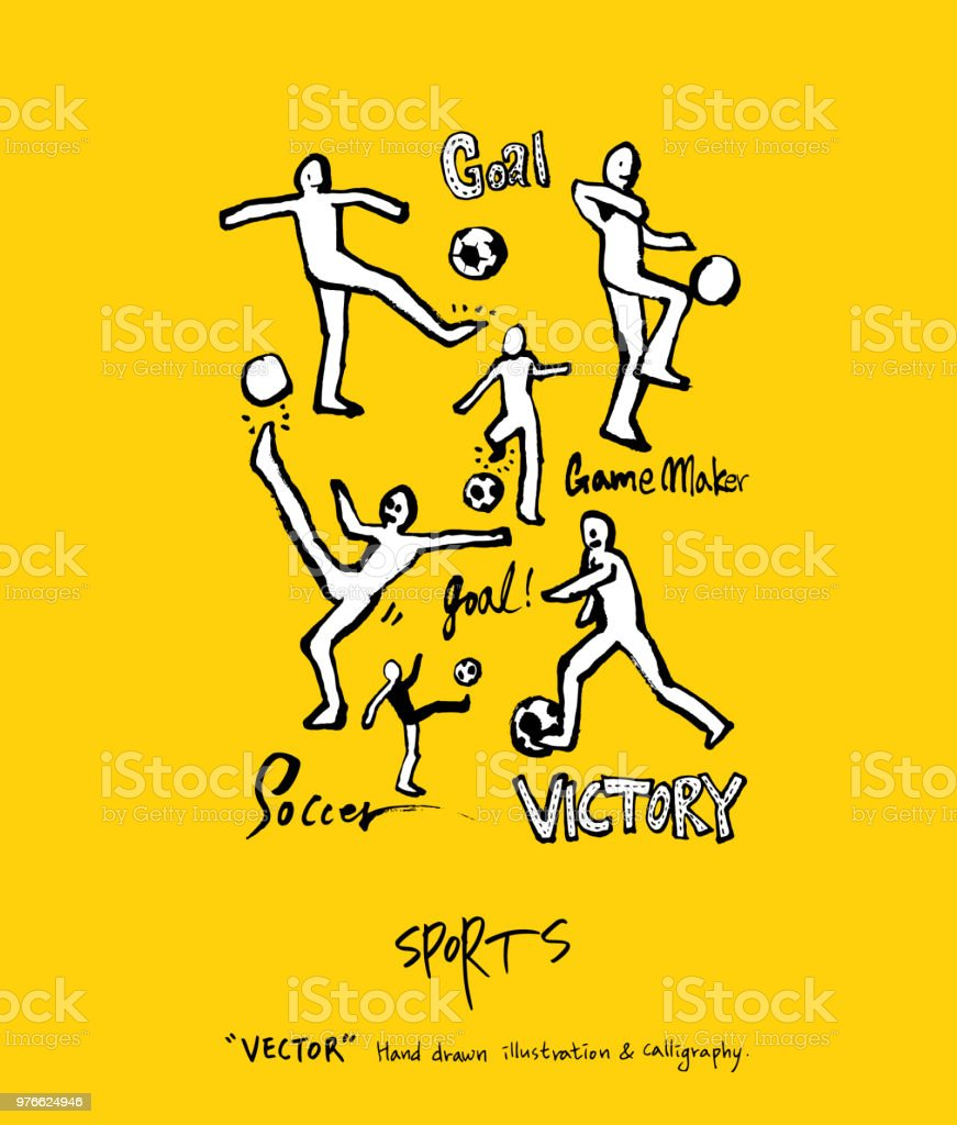 sport poster stock vector art more images of athlete 976624946