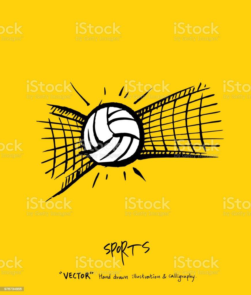Póster de deportes - ilustración de arte vectorial