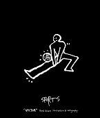Sketchy leisure illustration - vector
