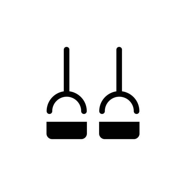 illustrazioni stock, clip art, cartoni animati e icone di tendenza di sport rubber outline icon. signs and symbols can be used for web, logo, mobile app, ui, ux - runner rehab gym