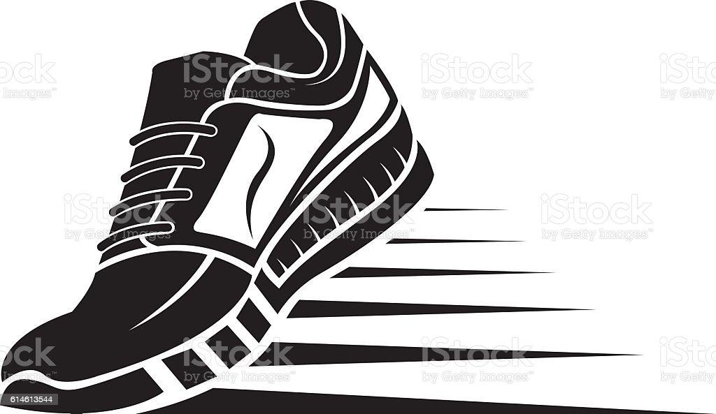 sport shoe icon - ilustração de arte em vetor