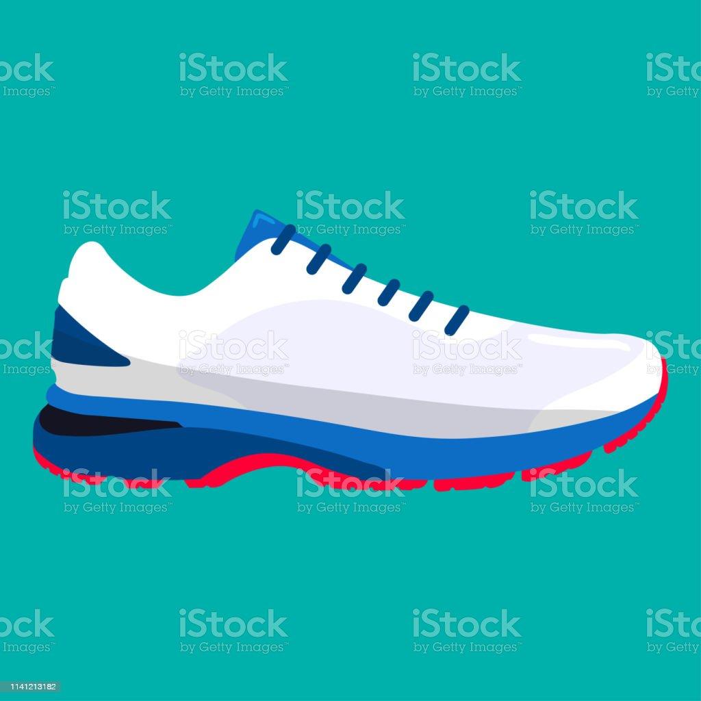 Chaussures De Sport Baskets Pour Lété En Illustration