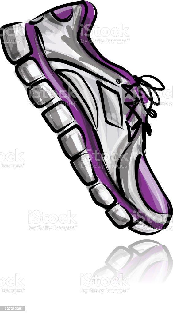 Su Diseño De Para Y Ilustración Zapatillas Deporte Sketch Más Yb6gIyvf7
