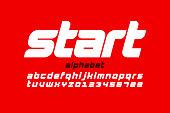 istock Sport style font 1256807634