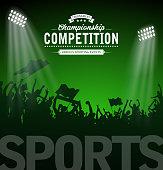 sport tournament label