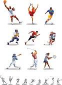 Different sport types
