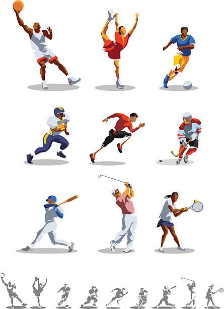sport-art - rugby stock-grafiken, -clipart, -cartoons und -symbole