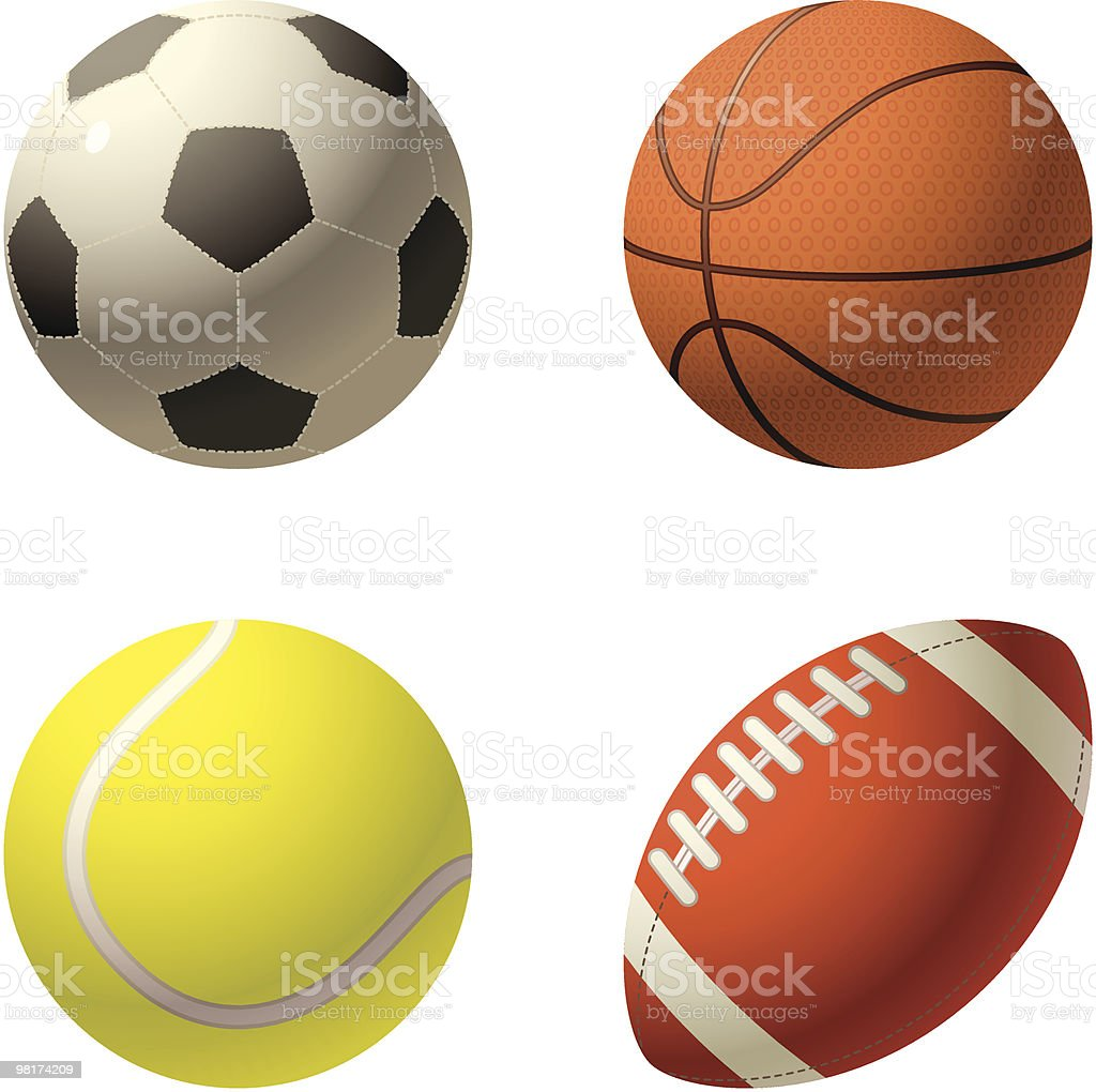 Sport royalty-free sport stock vector art & more images of american football - ball