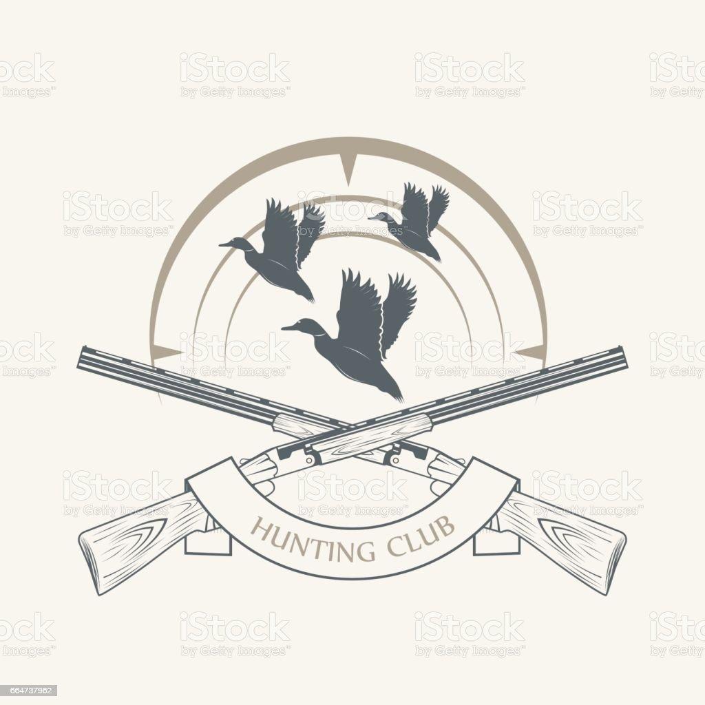 sporting clay Skeet vector art illustration