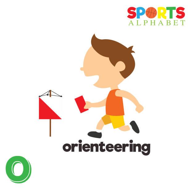ilustrações, clipart, desenhos animados e ícones de alfabeto de esportes com o letra - orientador escolar