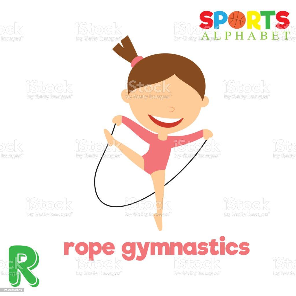 b03a6c298 Alfabeto de esportes com a letra R vetor de alfabeto de esportes com a letra  r e