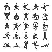 Sports and Fitness Icons - Smart Series