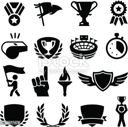 Athletic games and competition awards. Professional clip art for your print or Web project. See more icons in this series.