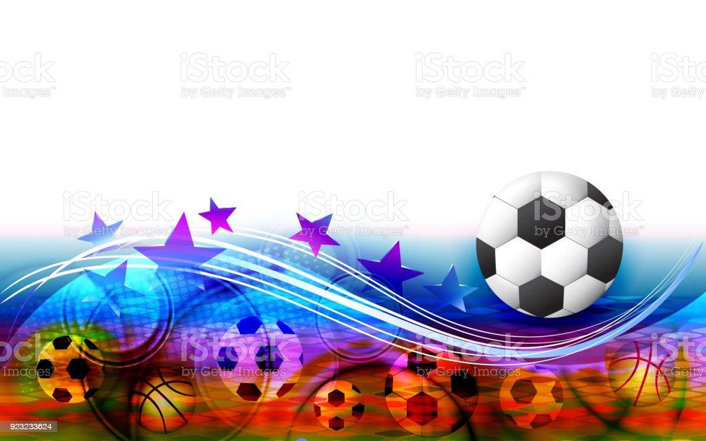 Sporthintergrund Banner Wallpaper Stock Vektor Art Und Mehr