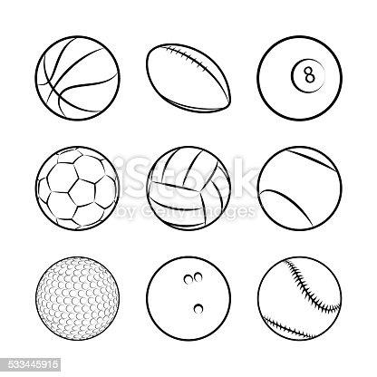 Bolas de esportes