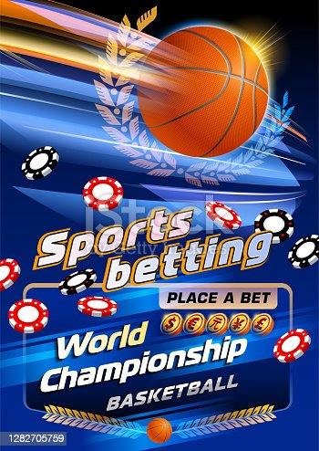istock Sports betting basketball 1282705759