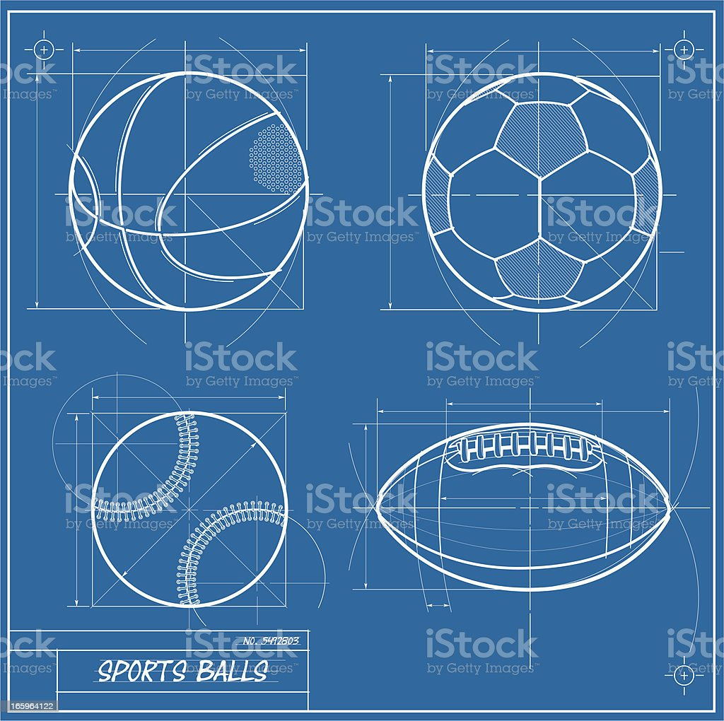 Sports blueprint stock vector art more images of activity sports blueprint royalty free sports blueprint stock vector art amp more images of activity malvernweather Choice Image