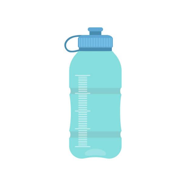 illustrations, cliparts, dessins animés et icônes de bouteille de sport - bouteille d'eau