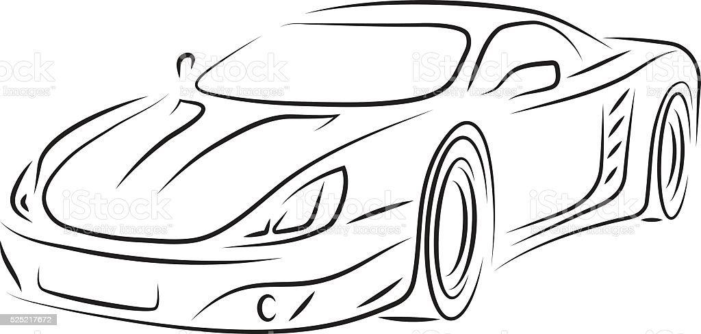 royalty free smart car clip art  vector images