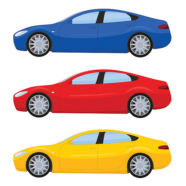 Royalty Free Red Car Clip Art, Vector Images ...