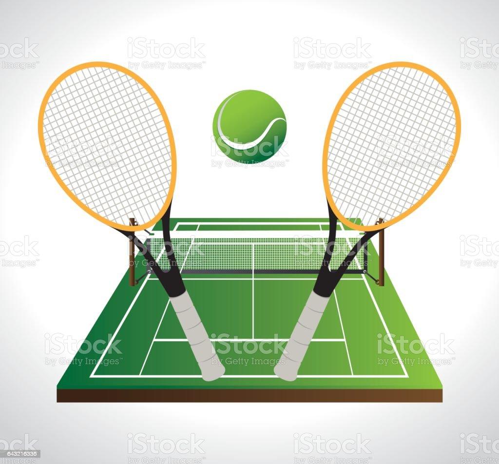 Royalty Free Tennis Net Clip Art, Vector Images ... Tennis Net Vector