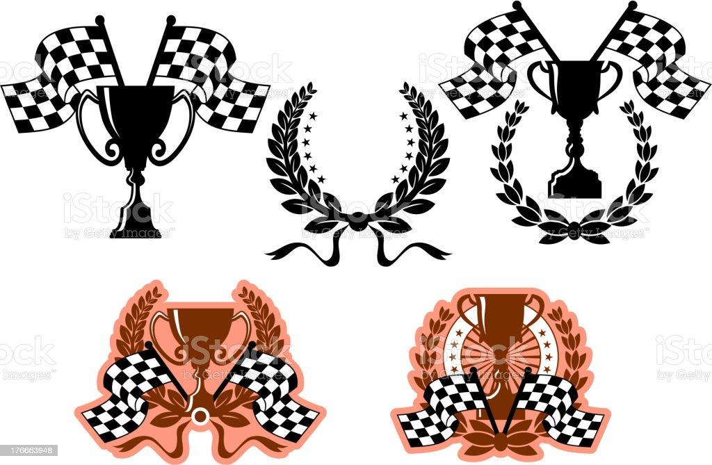 Sports emblems and symbols royalty-free sports emblems and symbols stock vector art & more images of badge
