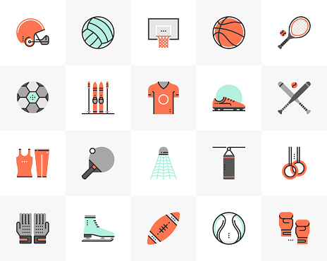 Sports Equipment Futuro Next Icons Pack