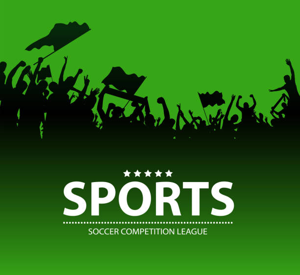 sports fun sign drawing of vector sports fun silhouette.This file was recorded with adobe illustrator CS4 transparent.EPS10 format. american football league stock illustrations