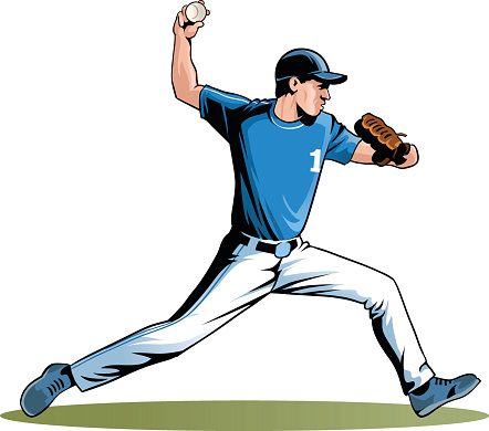 Sports Game Of Baseball - Pitcher