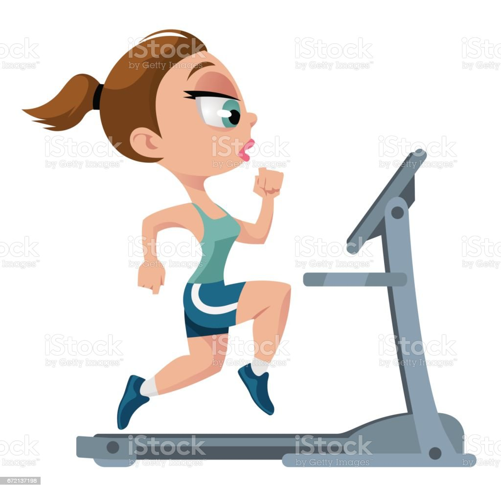royalty free treadmill funny clip art vector images illustrations rh istockphoto com clipart funny sayings clipart funny animals