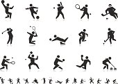 Sports icons (Ball Games) | Pictoria series