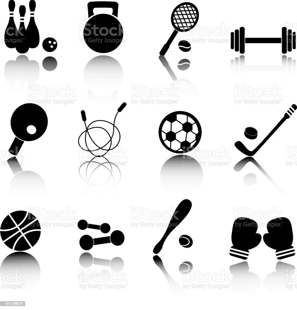 sports icons royalty-free sports icons stock vector art & more images of activity