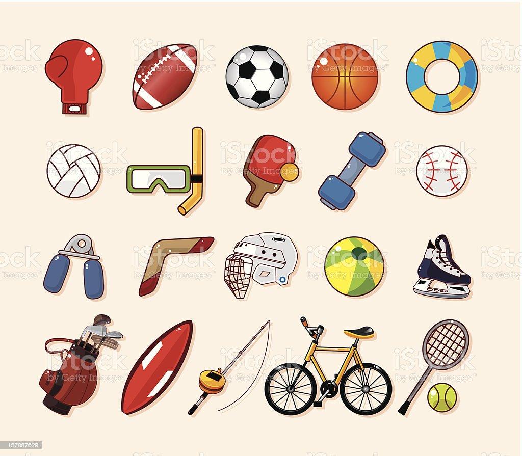 b8d8f2b64 Ícones de esportes vetor de ícones de esportes e mais banco de imagens de  artigo de
