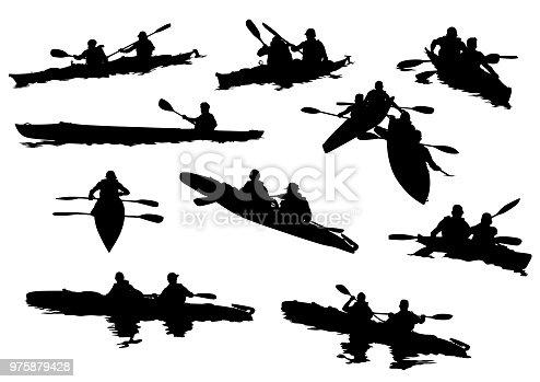 istock Sports kayak 975879428