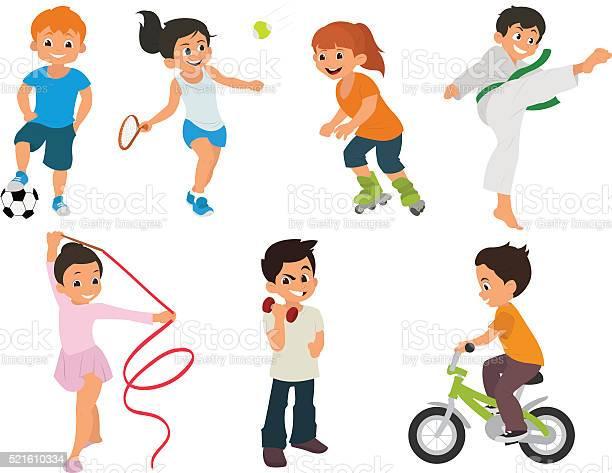 Sports kids are actively involved in sports vector id521610334?b=1&k=6&m=521610334&s=612x612&h=sr4udlhzzmjwbee9rs3ngbbk7x3rnoev5wd6fjiu rq=